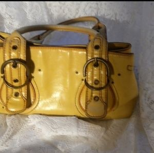 Aldo Antique Yellow Handbag